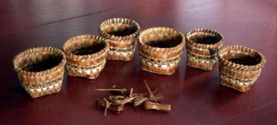 Small Cedar Baskets