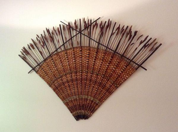 Cedar and Iris Fan, 5'x5'x2