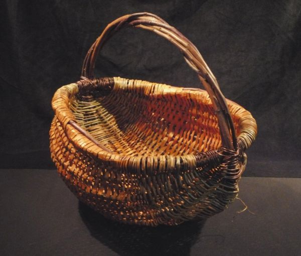 Heirloom Cedar Harvest Basket, large