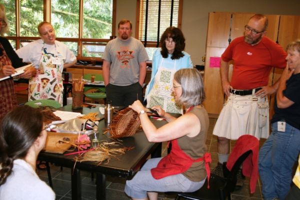 NCI Students Begin Their Projects