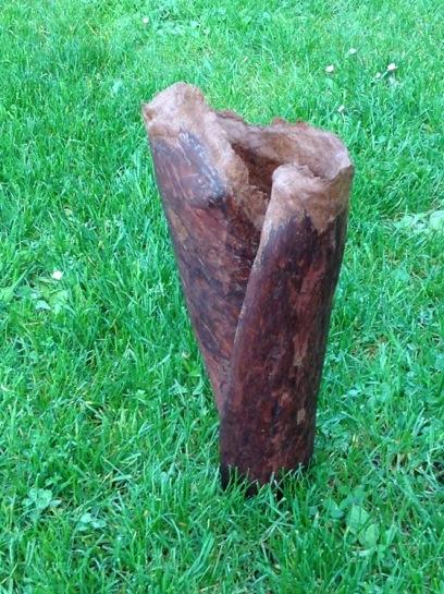 Madrona Bark Vase, Melinda West