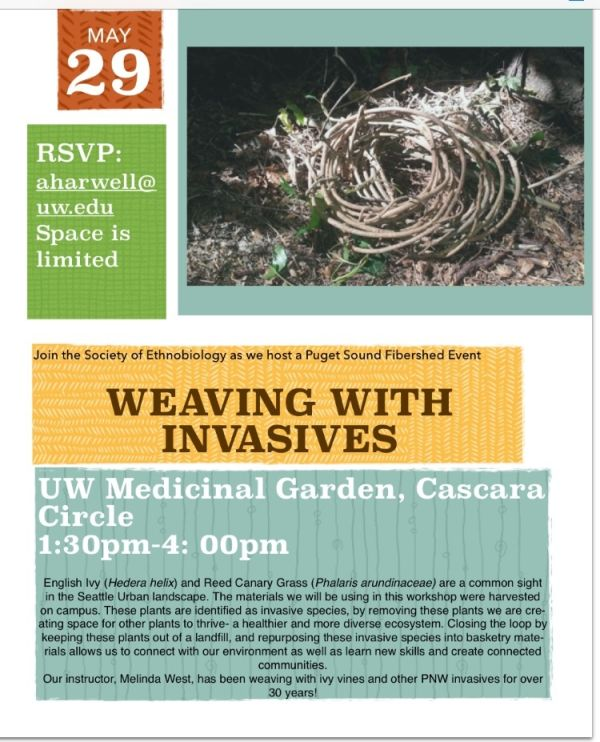 Weaving With Invasives