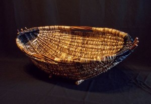 Giant Hearth Basket by Melinda West