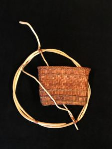 Cedar Mail Basket