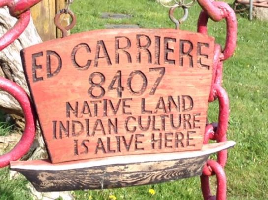 Ed Carriere Native Culture is Alive Here
