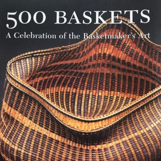 Polly Adams Sutton cover of FIVE HUNDRED BASKETS, by Lark Books