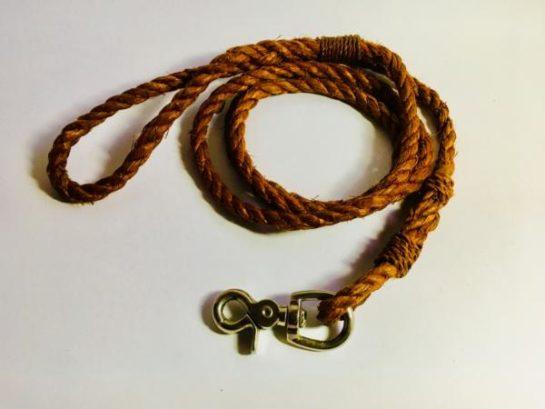 Sue Skelly Cedar Bark Dog Leash