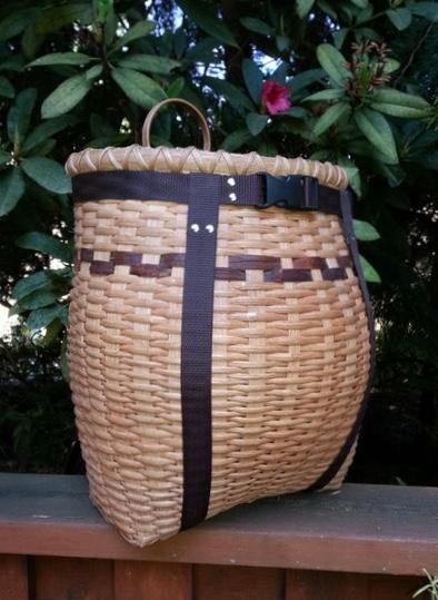 Karen Sherwood Adirondack Style Pack Basket