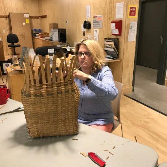 Adirondack Style Pack Basket Day 2