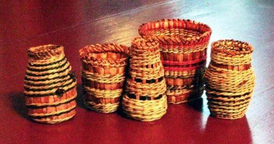 Small Cedar Baskets by Melinda West