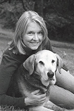 Melinda West and her dog