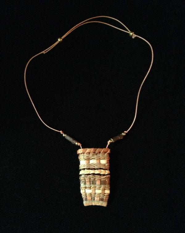 Woven Cedar Necklace