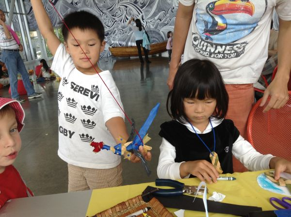Innovators at the Seattle Art Museum Salmon Return Festival 2013