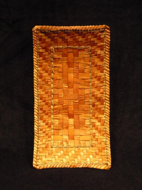 Woven Cedar Tray