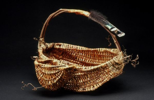 Harvest Basket with Tool Pouch