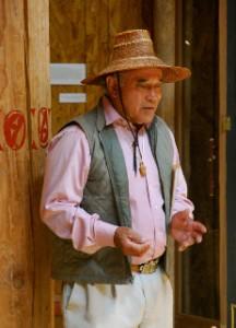 Suquamish Master Weaver Ed Carriere