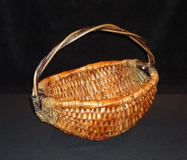 Heirloom Cedar Harvest Basket, medium