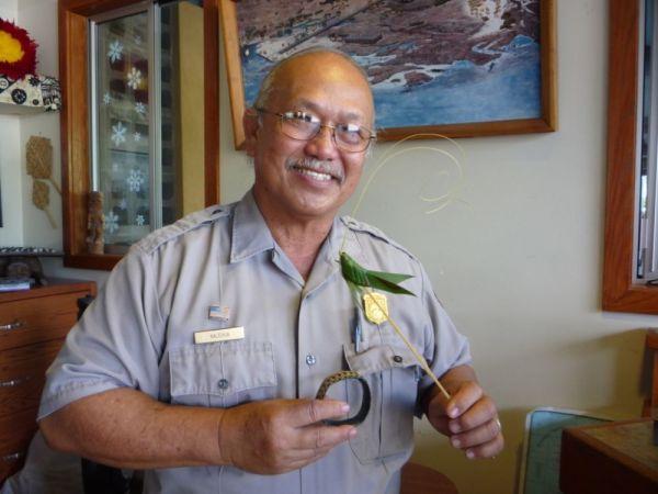Lahalla Weaver Charles Hua, Park Ranger, Hawaii