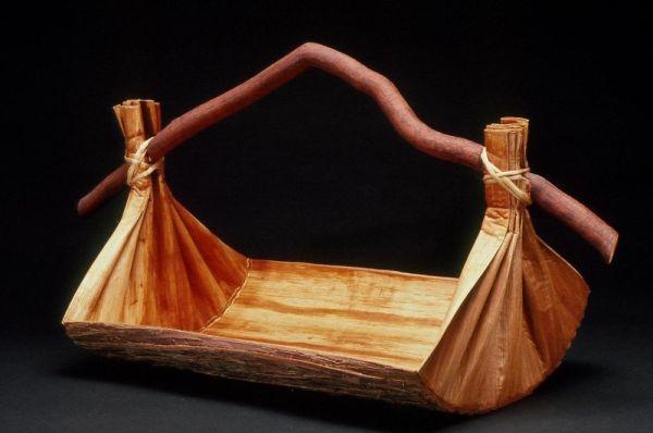 Large Canoe Bailer-Style Vessel