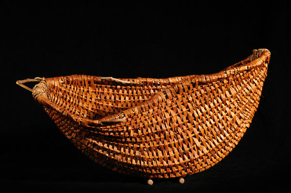 Cedar Half-Moon Basket