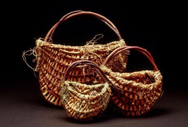Ribbed Wall Baskets