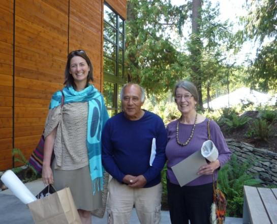 10-Katie Jennings, Ed Carriere, Karen James, 9-14-12