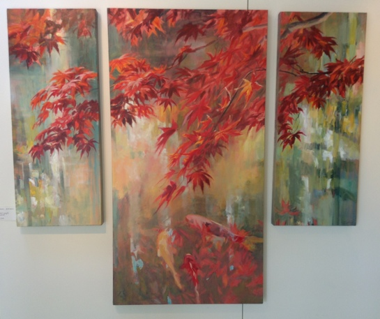Sydni Sterling's triptych