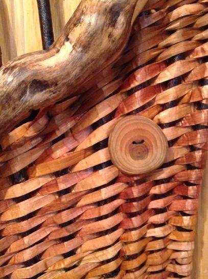 Detail, Cedar, Plum, Driftwood