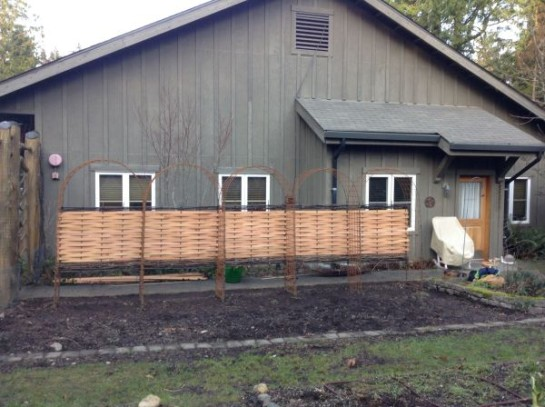Privacy Fence at IslandWood