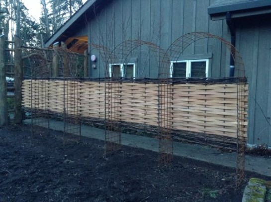 IslandWood Fence Completed