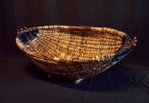 Giant Hearth Basket by Melinda West
