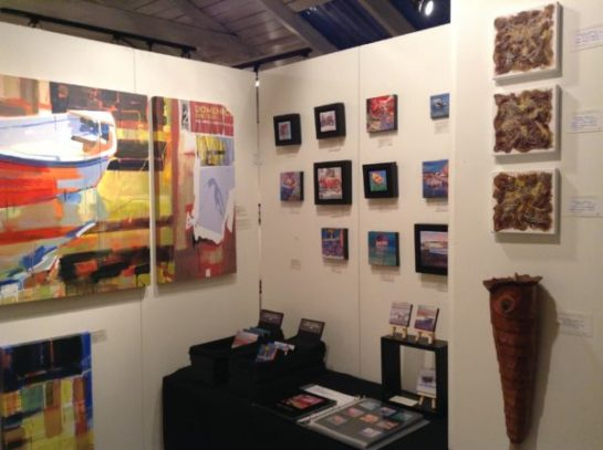Paintings by Sydni Sterling, Plant Fiber Work by Melinda West