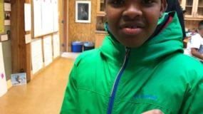 Dunlap Elementary Student at IslandWood