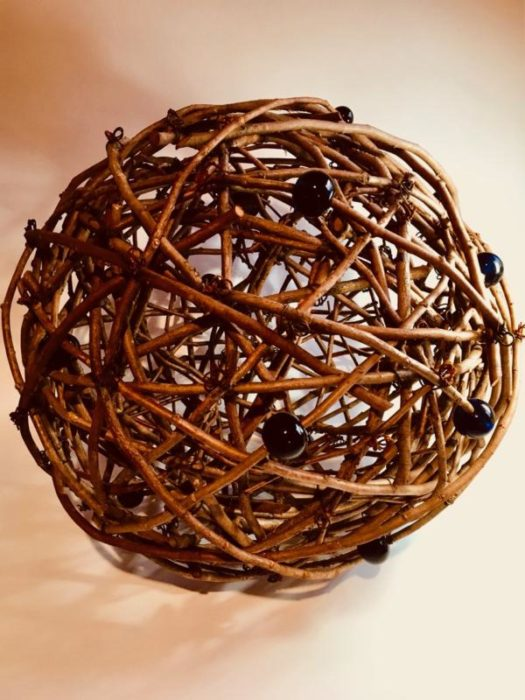 Sue Skelly Large Cedar Limb Sphere