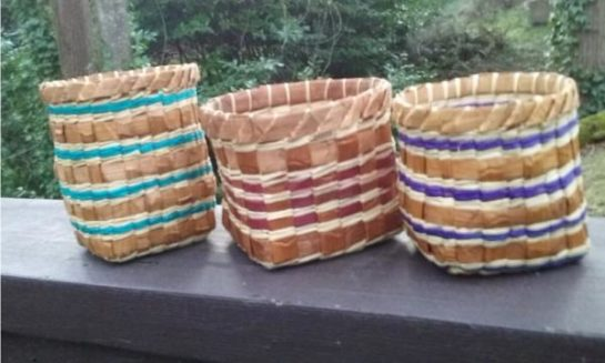 Nancy Sigo NW Coast Cedar Basket