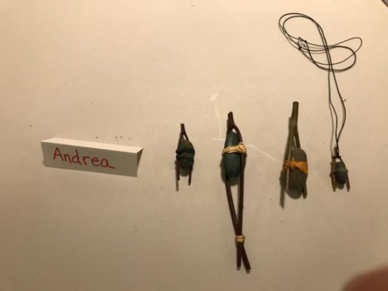 Andrea's artifact replicas