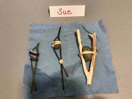Sue's artifact replicas