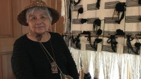 Darlene Peters S'Klallam Cultural Teacher & Weaver