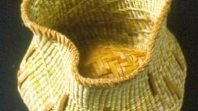 Cedar and Sweet Grass Basket by Polly Adams Sutton