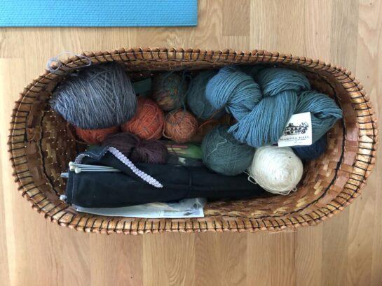 Cedar Yarn Basket