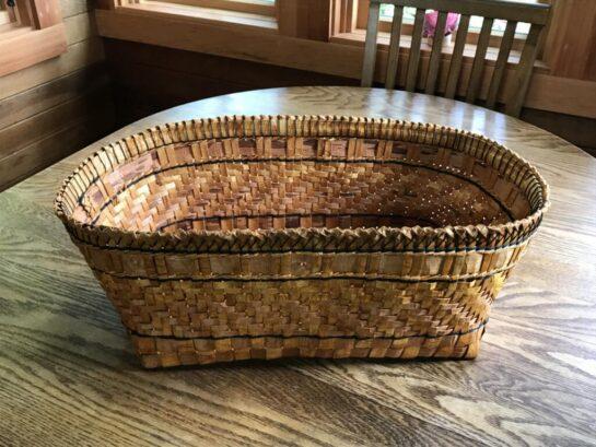 Cedar Yarn Basket by Melinda West