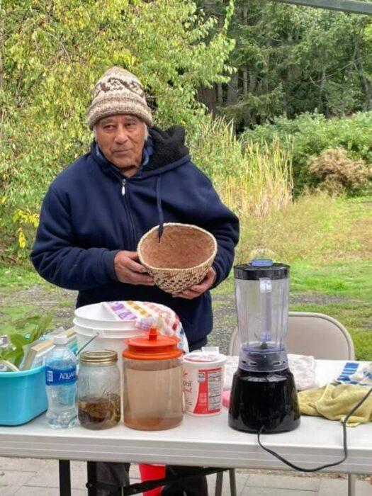Ed Carriere, Suquamish Elder